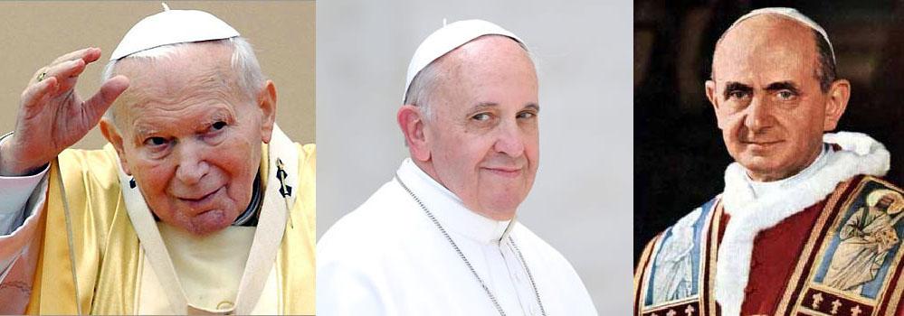 در این قسمت نامه ها و متن سخنرانی های پاپها در طول سالیان گذشته جهت استفاده و نیز اطلاع شما قرار داده شده و همچنین به روز رسانی میشود . . .